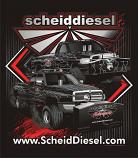 Scheid Diesel Motorsports Truck Pull Team Shirts
