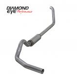 "Diamond Eye 4"" Exhaust 1999-2003.5 FORD 7.3L POWERSTROKE F250/F350 Alum."