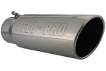 "Flo-Pro 4""x5""x15"" Embossed Bolt on Stainless Steel Tip"