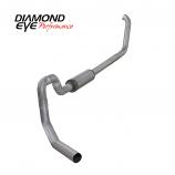 """Diamond Eye 4"""" Exhaust 2001-2002 Powerstroke Excursion Alum"""