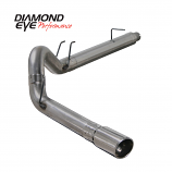 "Diamond Eye 5"" Exhaust 2008-2010 Powerstroke F250/F350 Stainless"