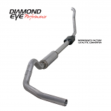 "Diamond Eye 4"" Exhaust System Kit 1994-1997.5 FORD 7.3L POWERSTROKE F250/F350"