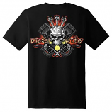 Diesel Life Injector Black T-shirt Adult Sizes