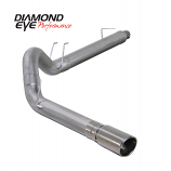 "Diamond Eye 5"" Exhaust 2008-2010 Powerstroke F250/F350 Alum"