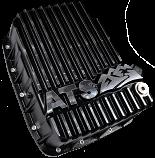 Transmission Pan, ATS Aluminum +5 Qt, 68RFE 2007.5-2012 Dodge