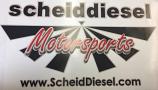 Scheid Diesel Motorsports Sticker Large