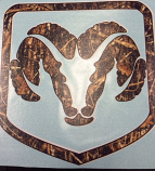 Dodge Camo Decal