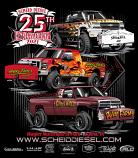 Scheid Diesel Extravaganza 2021 Event Shirts