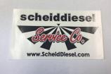 Scheid Diesel Logo Sticker