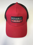 Duramax Red Mesh Hat