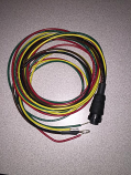 Corsa Power Hoookup Cables and 2 Alarms