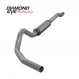 "Diamond Eye 4"" Exhaust 2003-2007 Powerstroke F250/F350 Alum Cat Back"